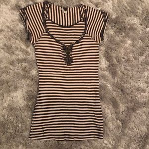 Striped Top by WE THE FREE - size XS